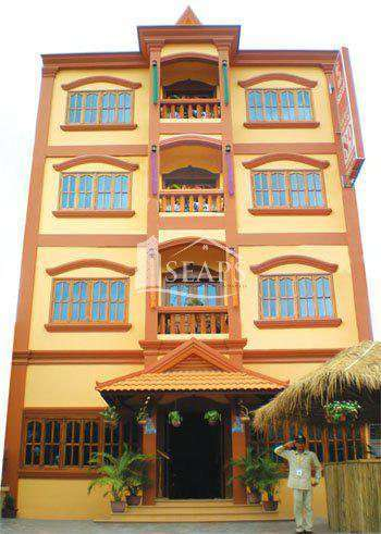 HOTEL FOR RENT -  SVAY DOUNGKUM - SIEM REAP