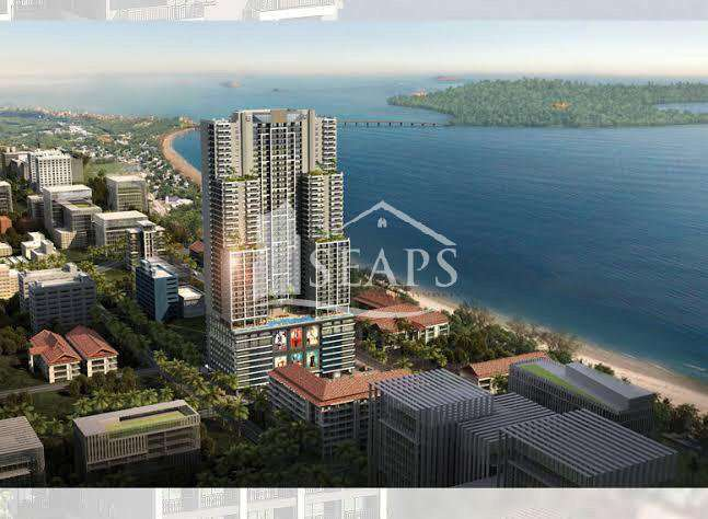 2 BED CONDO WITH SEA VIEWS - FOR SALE - SIHANOUKVILLE