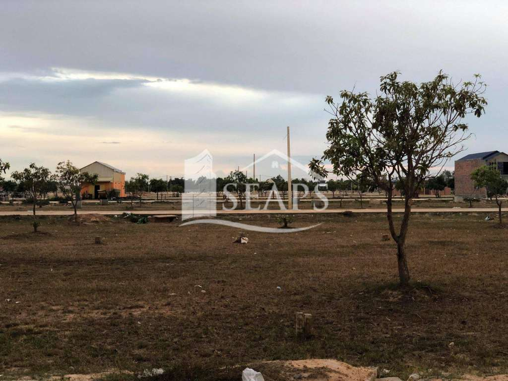 PLOT OF LAND FOR SALE - SVAYTHOM AREA - SIEM REAP
