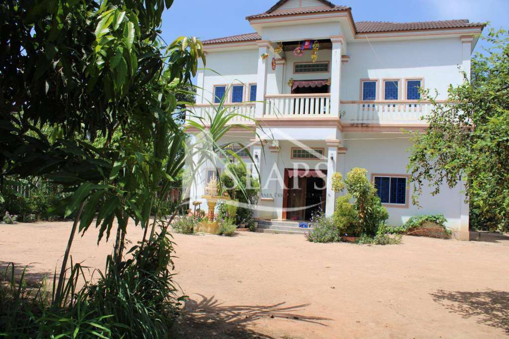 HOUSE FOR SALE -  SVAY DANGKOM - SIEM REAP