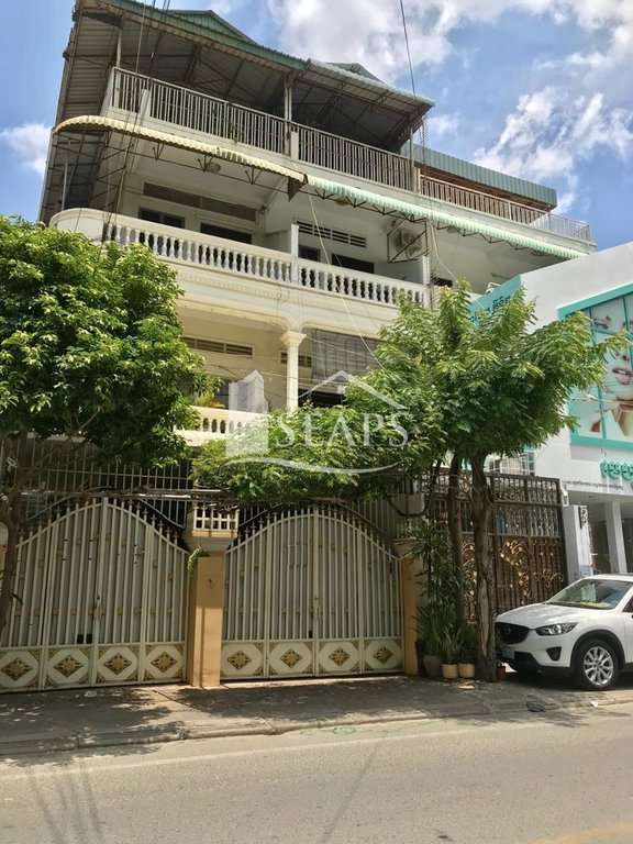 FULL BUILDING FLAT HOUSE FOR RENT IN BOEUNG KENG KANG 1
