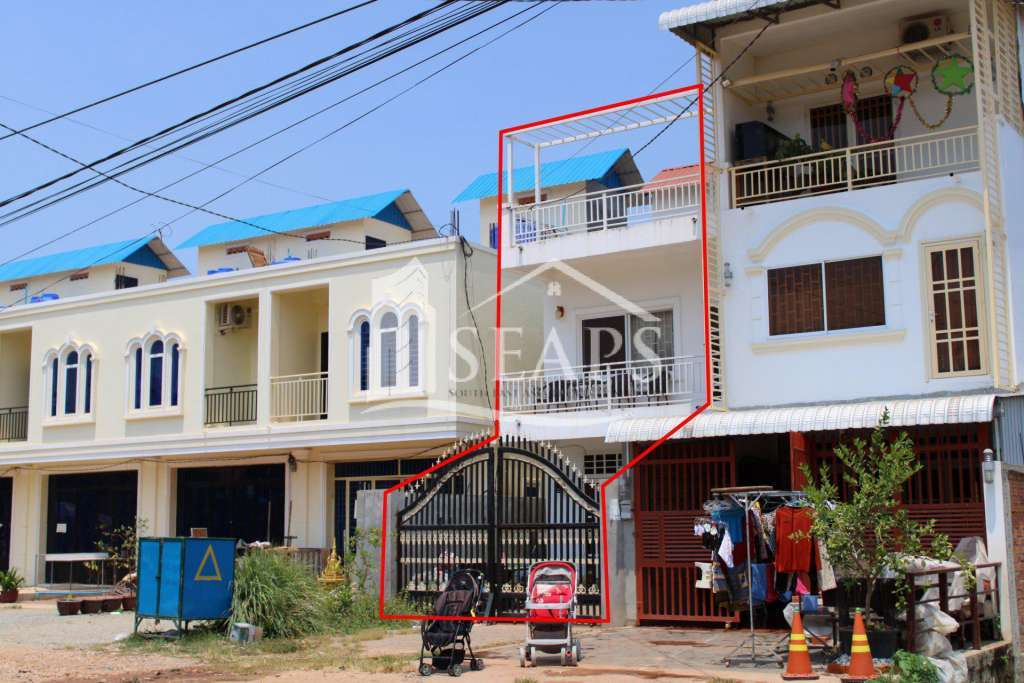HARD TITLE HOUSE - FOR SALE - SIEM REAP