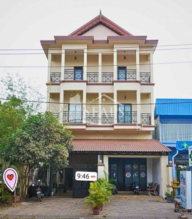 FULL BUILDING APARTMENT FOR RENT - SIEM REAP