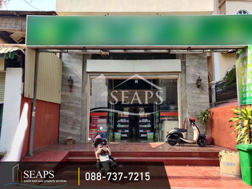 Shop for rent in BKK1, near Independence Monument!