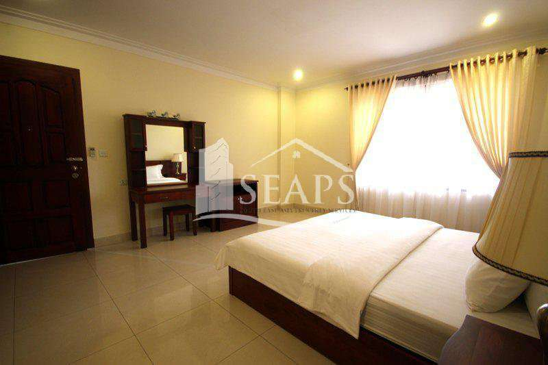 SPACIOUS 1 BED - FULLY FURNISHED - BKK1 - FOR RENT