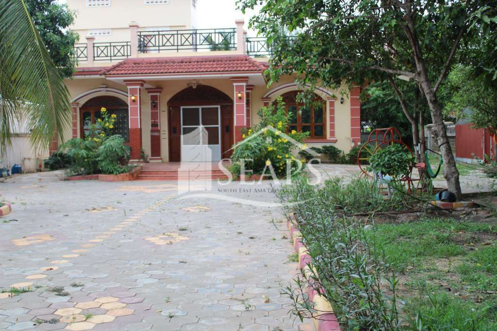 HOUSE FOR RENT -  SALA KAMREUK - SIEM REAP