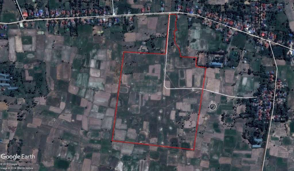 19 HA Industrial land for sale Kampong Speu