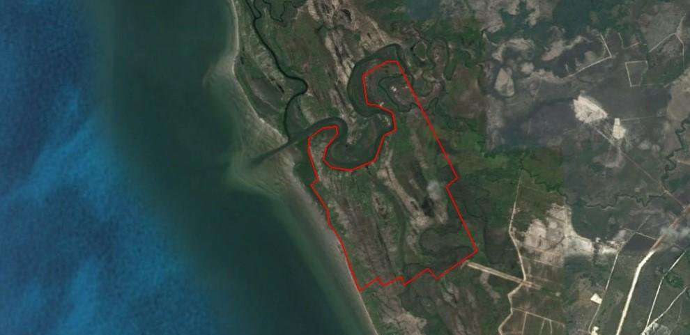 Hard Title Land For sale in Khum Sre Ambil, koh Kong Province