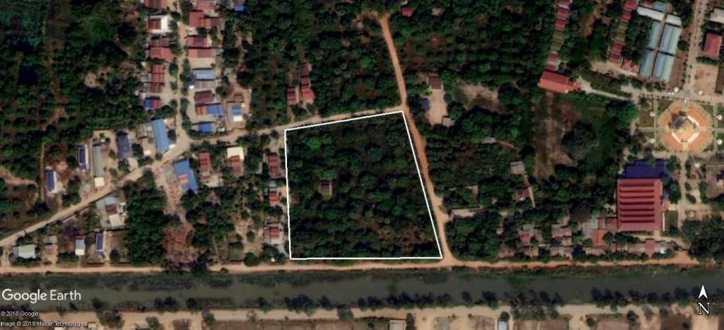 Residential Land for Sale in Angk Snuol District, Kandal Province
