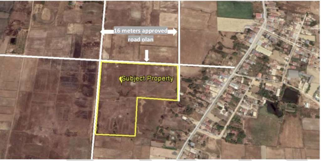 Vacant Land for Sale - Prek Pnov , Phnom Penh (Under Value)