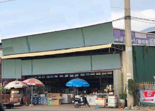 Warehouse For Sale Hanoi street Sen Sok