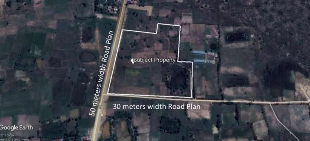 Vacant Land for Sale - St 51 , Angk Snuol- Kandal Province