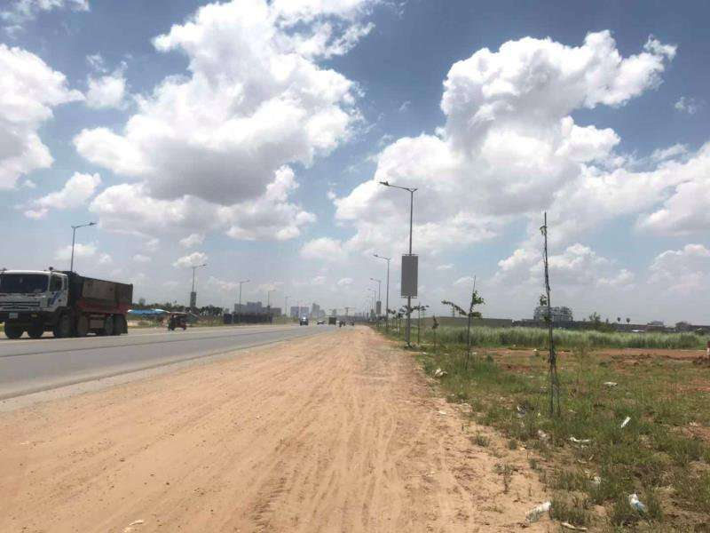 Commercial land for rent in Chak angreakrom