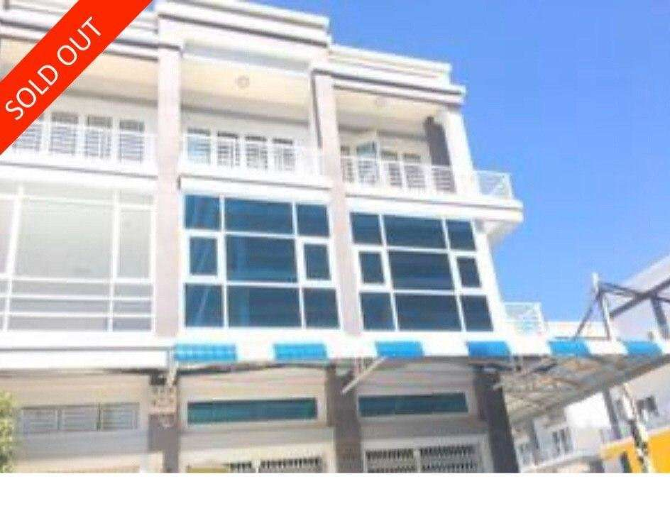 Shophouse for Sale Aeon Shoping Mall Sen Sok City, Phnom Penh (Under Value)