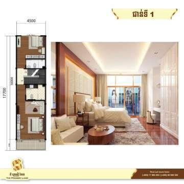 出售 平房子 Sen Sok