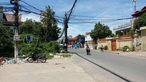 Sale Residential land Toul Kork