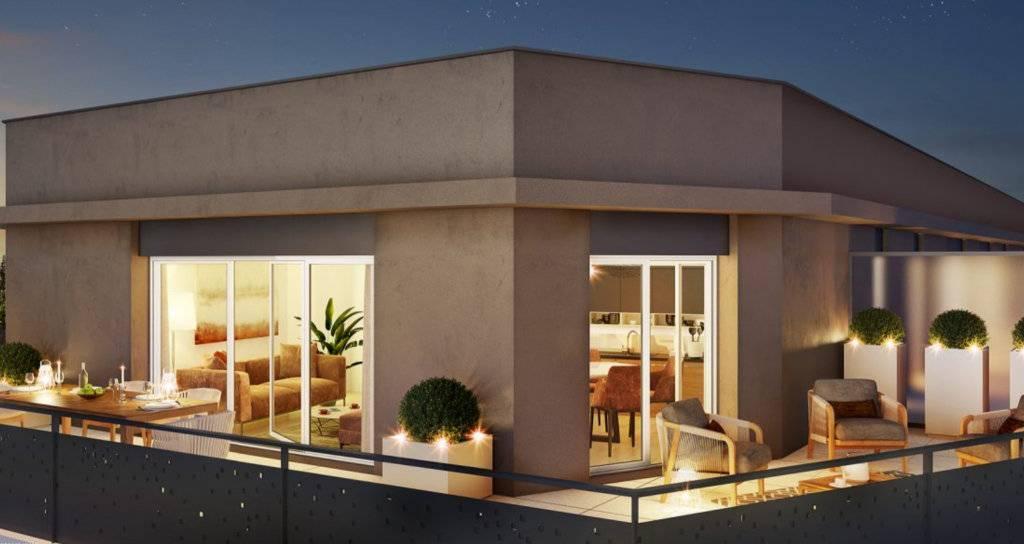 Appartement 4 pièces - 80 m2 - Dernier étage avec 2 terrasses