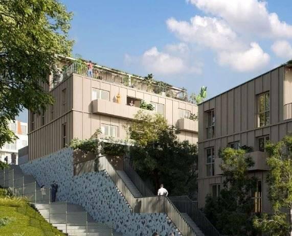 Appartement 5 pièces duplex - 98 m2 avec jardin 75 m2