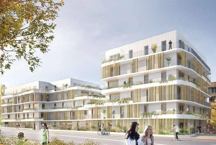 Appartement à Rueil-Malmaison - 1 pièce - 37 m2 - 1er étage avec balcon