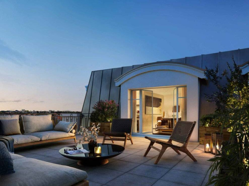Appartement 4 pièces - 77 m2 - 4e étage avec terrasse 19 m2