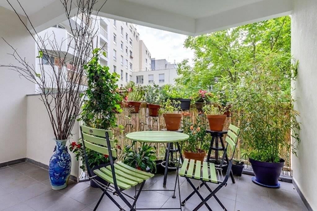 Appartement avec terrasse - Paris 2 pièce(s) 52m2