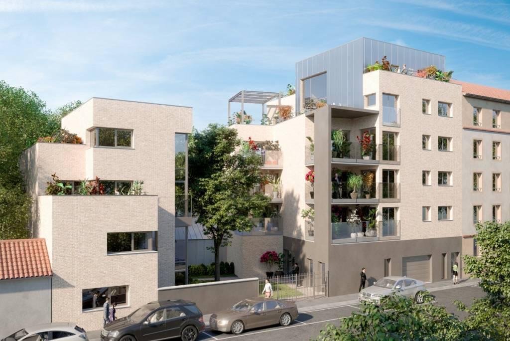 3 pieces de 68m² sur terrasse de 13m²