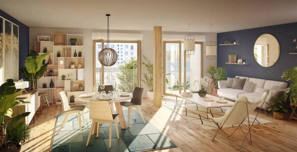 Appartement 2 pièces - 41 m2 - RDC avec terrasse