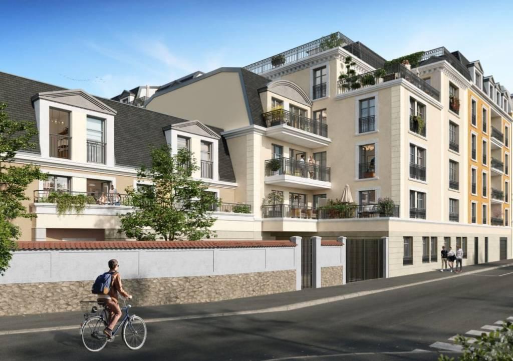 Maison - 5 pièces - 100 m2 avec 3 jardins privatifs