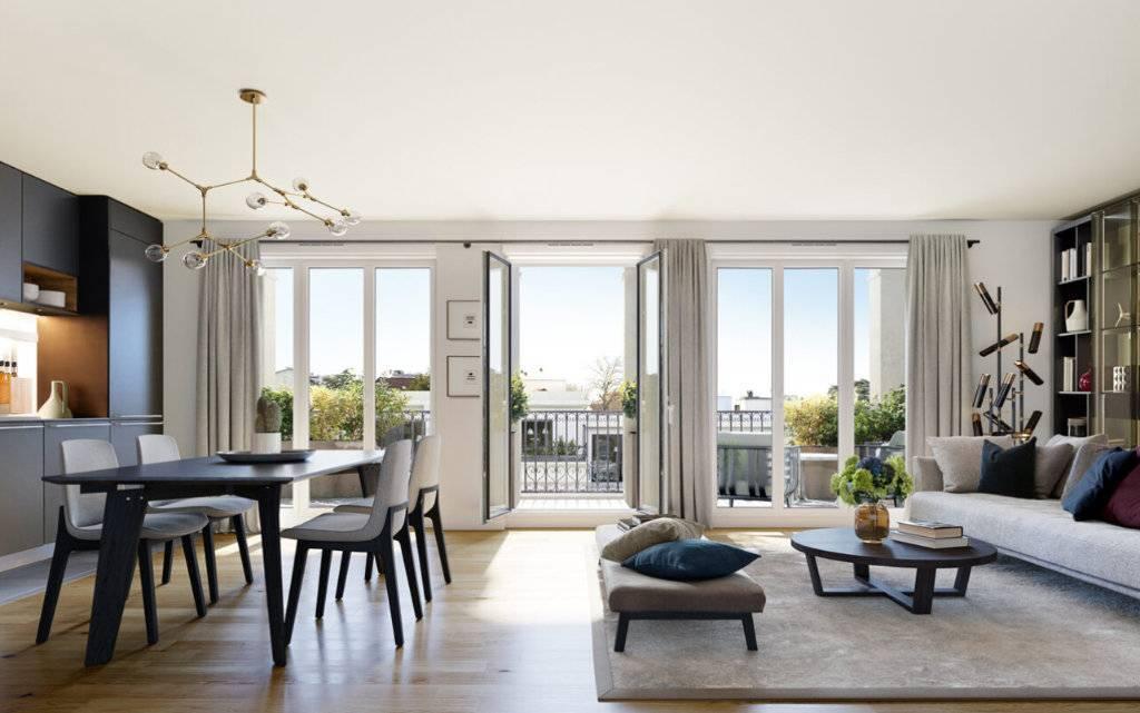 Appartement 3 pièces - 65 m2 - Dernier étage avec terrasse