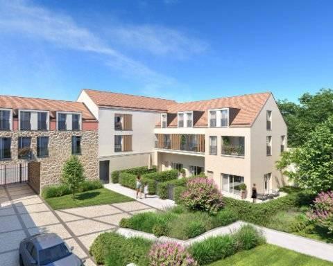 Appartement 4 pièces - 89 m2 - RDC avec terrasse et jardin