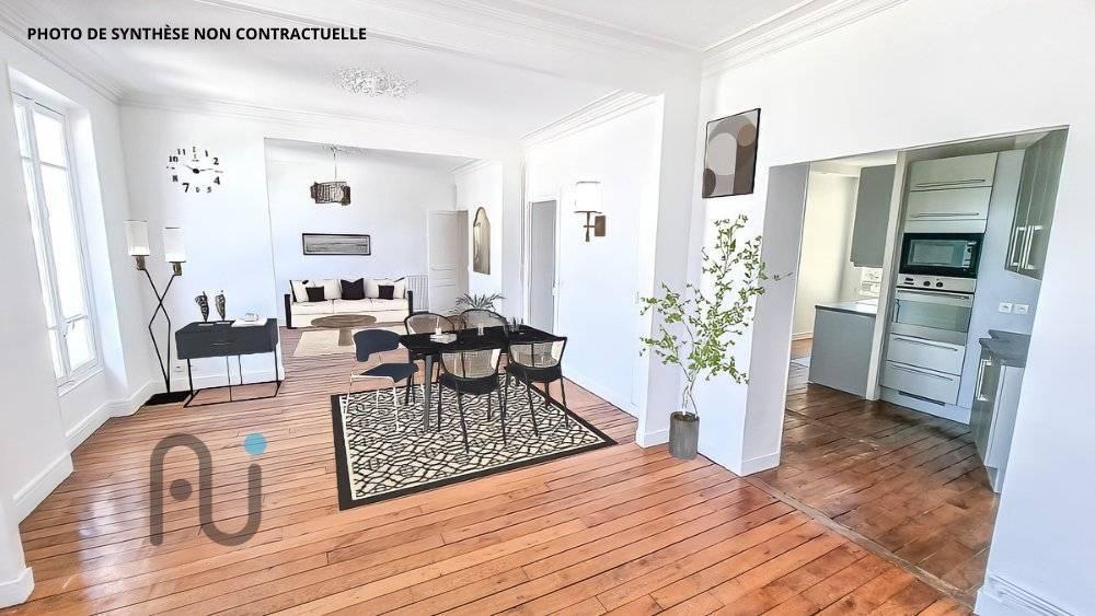 Appartement Asnieres Sur Seine 5 pièces de 103m²