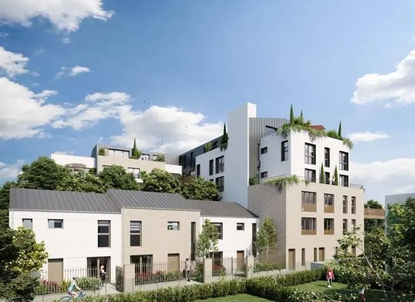 Belle maison - 4 pièces - 94 m2 - 1 terrasse et 2 jardins privatifs