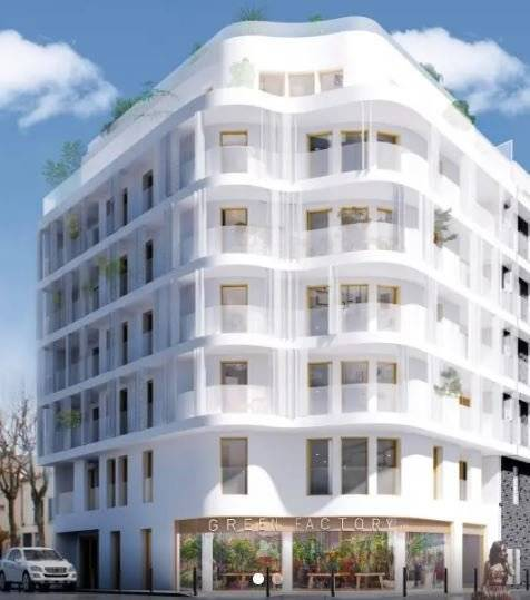 Studio - 29 m2 - 2e étage avec balcon 4 m2