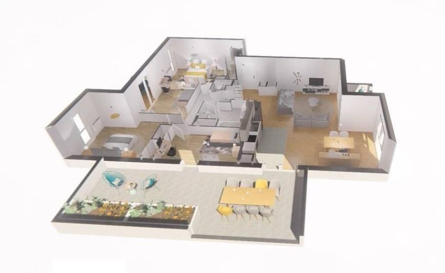 5 pieces de 109m² sur 51m² de terrasses