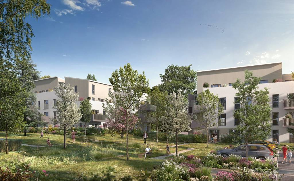 4 pièces avec jardin de 142m² et double garage