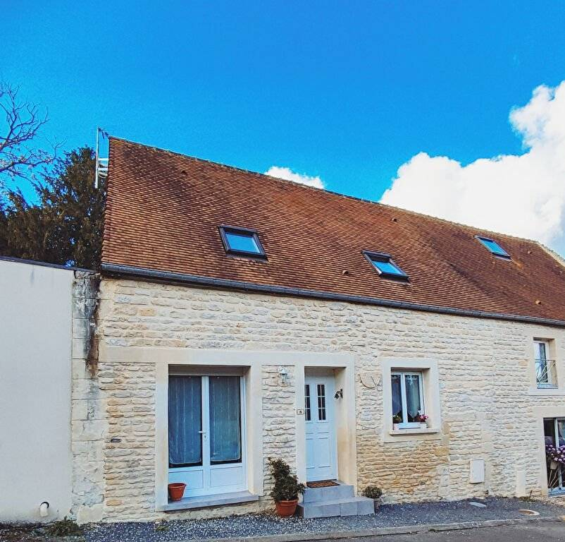 Maison de ville en pierres de Caen