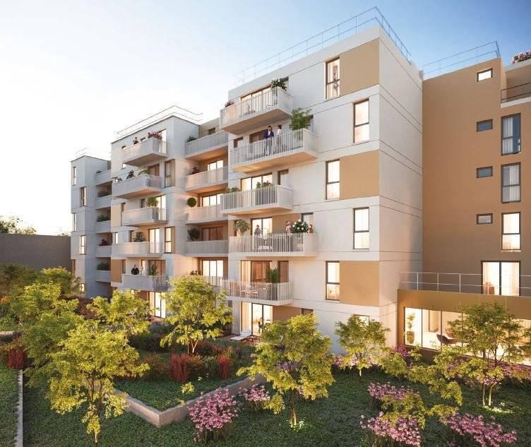 Appartement 2 pièces - 43 m2 - RDC avec loggia 4 m2