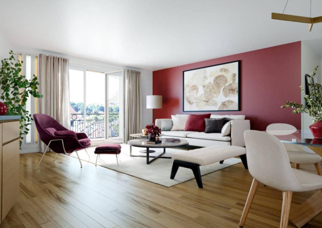 Appartement 3 pièces - 65 m2 - 1er étage avec balcon