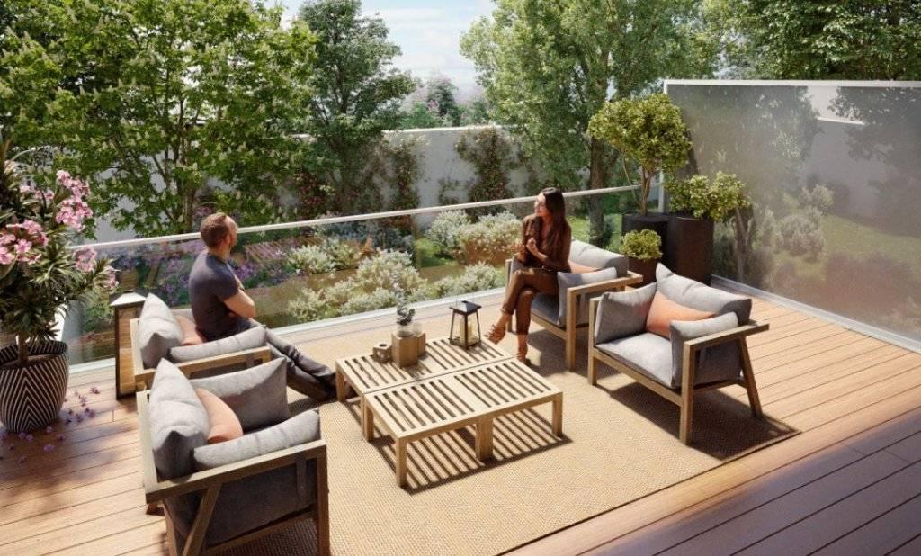 Appartement 2 pièces - 42 m2 - 4e étage avec terrasse 7 m2