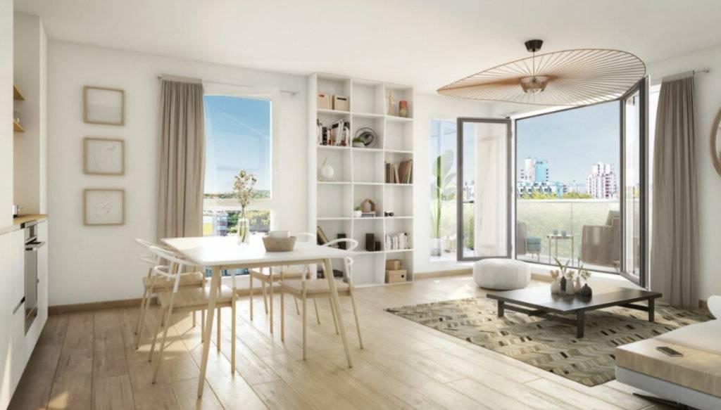 Appartement 3 pièces - 61 m2 - 3e étage avec terrasse de 9 m2