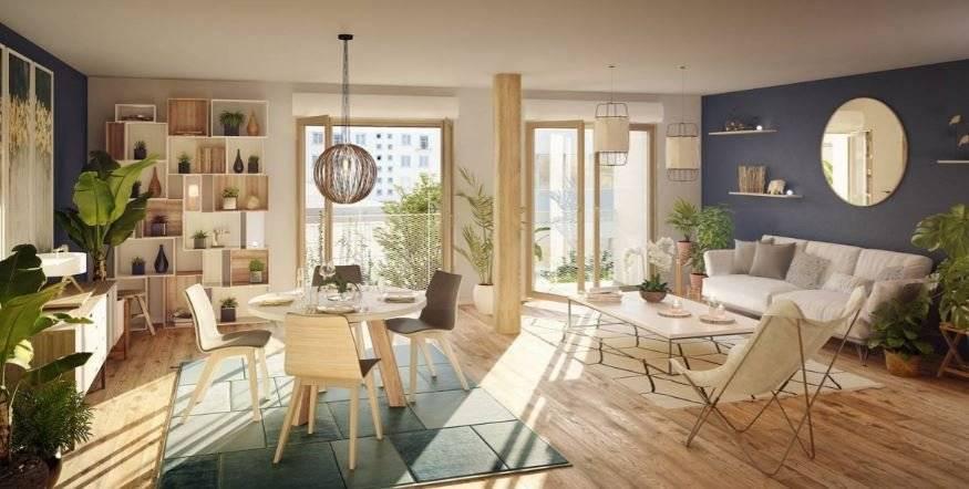 Appartement 2 pièces - 41 m2 - 3e étage avec balcon