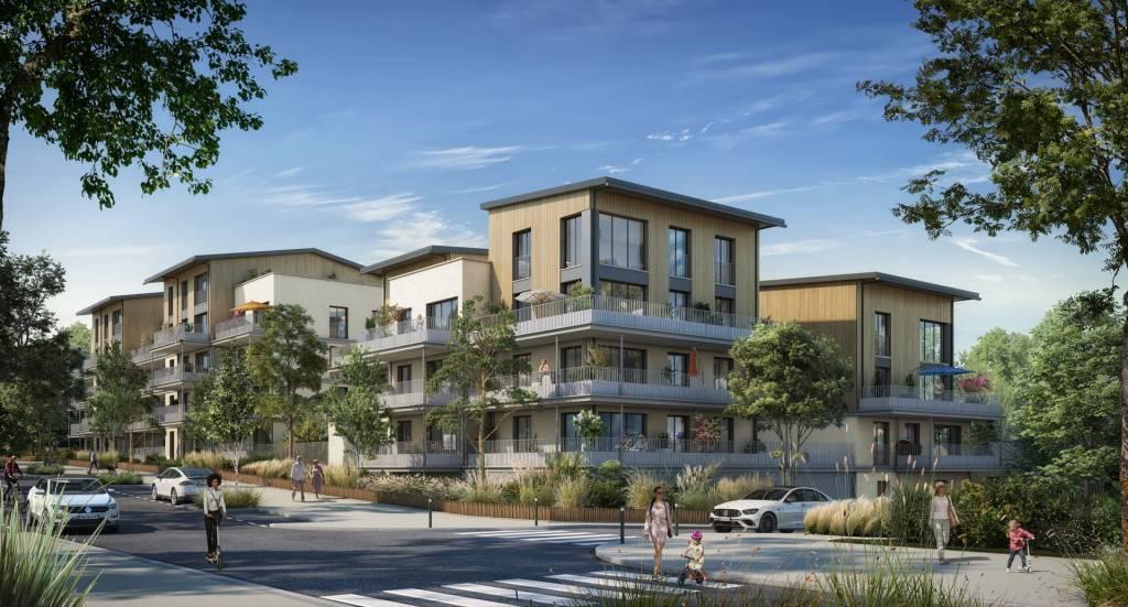 Appartement 4 pièces - 72 m2 - 3e étage avec 2 terrasses
