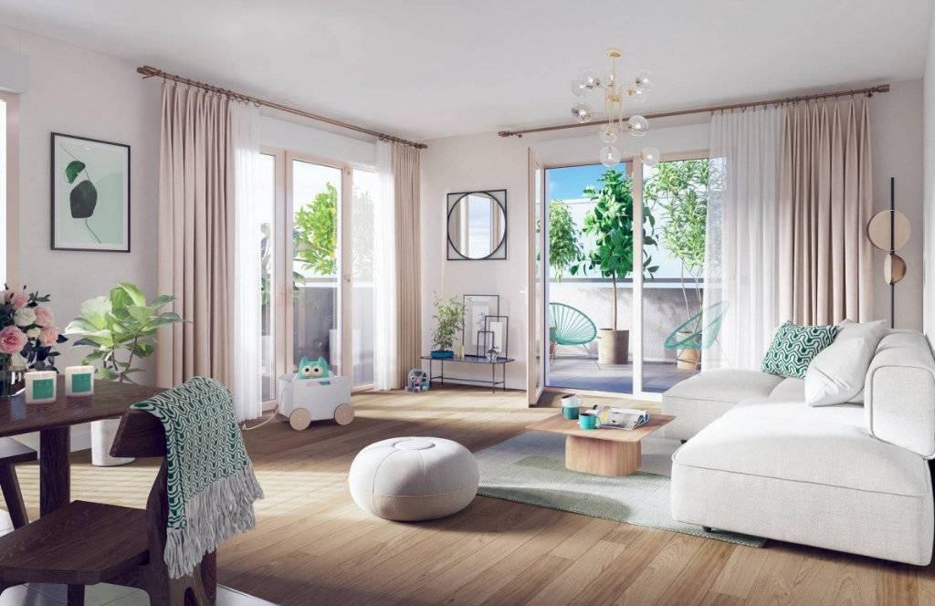 Appartement 4 pièces - 82 m2 - 3er étage avec 2 places de parking