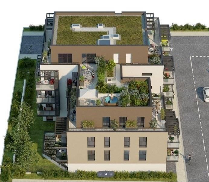 5 pieces attique sur 151m² de terrasse