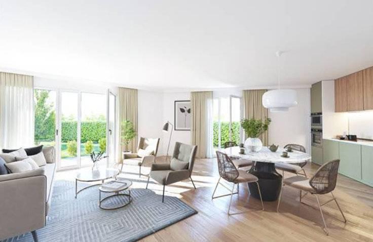 Appartement 3 pièces - 71 m2 - 2e étage avec terrasse 23 m2