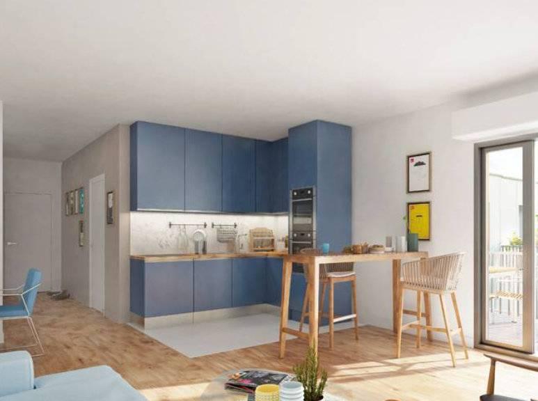 Appartement 4 pièces - 74 m2 - 1er étage avec loggia