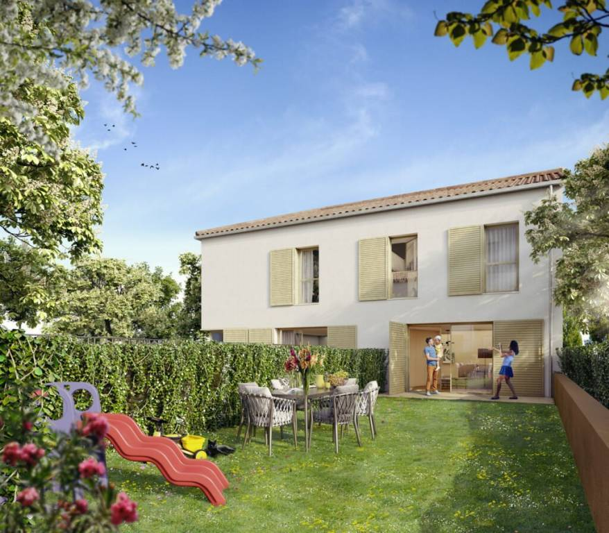 Maison 5 pieces de 132m² sur jardin de 102m²
