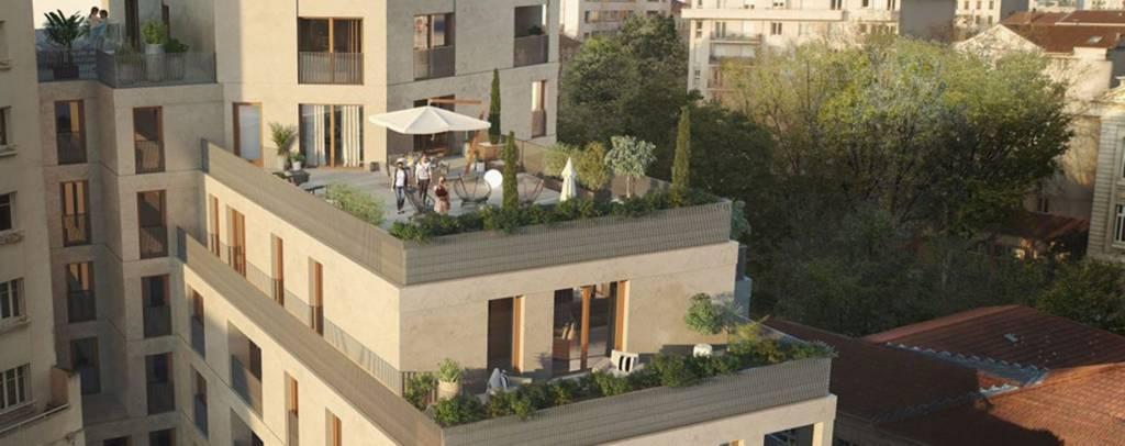 4 pieces de 95m² sur 66m² de terrasse