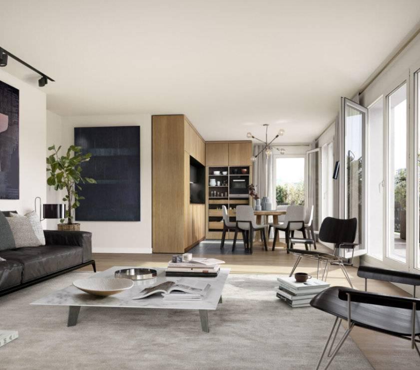 Appartement 2 pièces - 39 m2 - 3e étage avec balcon 3 m2