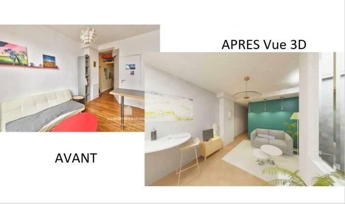 Appartement 2 pièces métro Charonne
